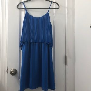 Beautiful blue dress!